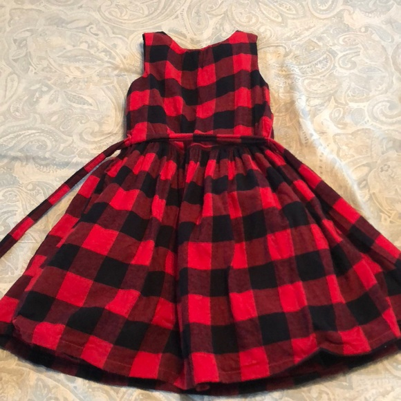 2bbb580329a Carter s Other - Carters Girl Buffalo Plaid Dress Christmas Holiday